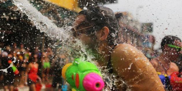 Le Montreal Watergun Fight, une guerre géante de pistolets à eau au Parc La