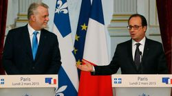 Couillard rencontre Hollande à
