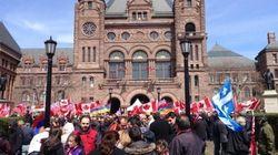 Rassemblement à Toronto pour les 100 ans du génocide