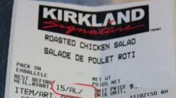 Listeria: rappel de salades de poulet chez