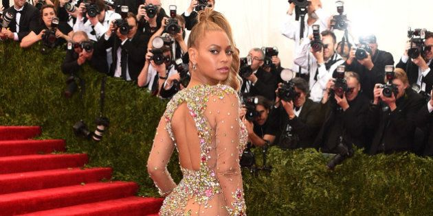 NEW YORK, NY - MAY 04:  Beyonce attends the 'China: Through The Looking Glass' Costume Institute Benefit Gala at the Metropolitan Museum of Art on May 4, 2015 in New York City.  (Photo by Larry Busacca/Getty Images)