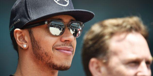 Lewis Hamilton (GBR) Mercedes AMG F1.Chinese Grand Prix, Saturday 111th April 2015. Shanghai,