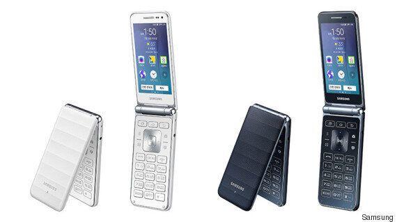 Un téléphone à clapet tactile imaginé par