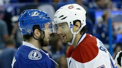 Canadien-Lightning: une page