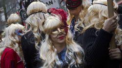 Les prostituées d'Amsterdam manifestent contre la rénovation du Red Light