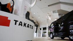 Recours collectifs contre Takata pour 2,4 milliards de dollars