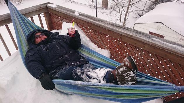 Voici comment les Canadiens ont réussi à profiter malgré tout d'un hiver