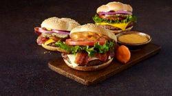 McDo lance un hamburger «haut de
