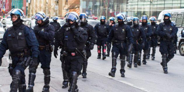 Les manifestants n'ont plus à craindre