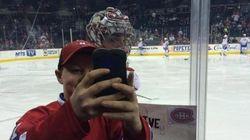 Un autre « selfie » mettant en vedette Carey