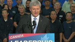 Harper accuse les néo-démocrates du Québec d'être «les plus inefficaces de