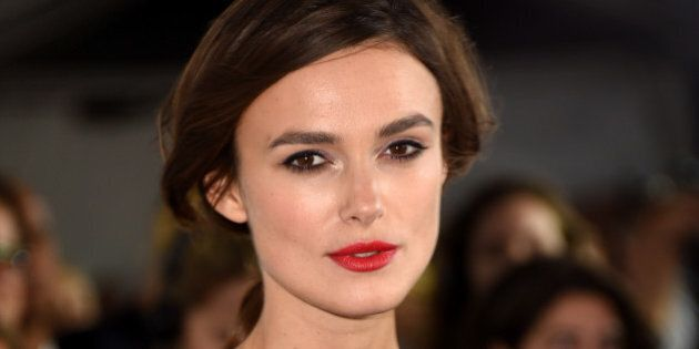 TORONTO, ON - SEPTEMBER 10:  Actress Keira Knightley attends the 'Laggies' premiere during the 2014 Toronto International Film Festival at Roy Thomson Hall on September 10, 2014 in Toronto, Canada.  (Photo by Jason Merritt/Getty Images)