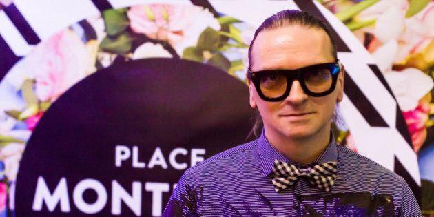 Styles de soirée: le créateur de mode Denis Gagnon s'empare de la Place Montréal Trust