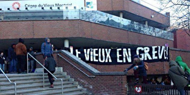 Vote controversé de reconduction de grève au Cégep du Vieux