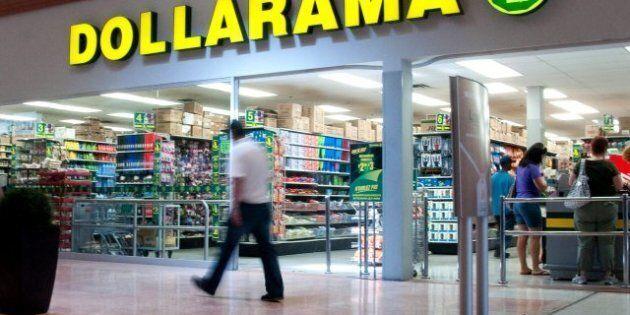 La facture des clients du Dollarama devrait