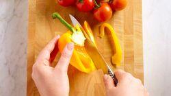Des fruits et légumes remplis de