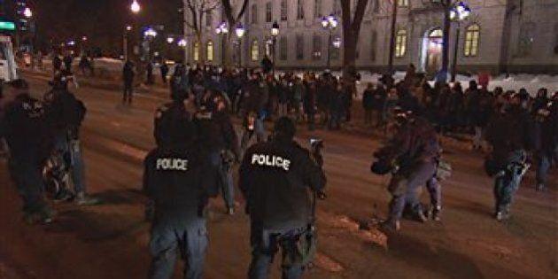 Manifestation contre l'austérité: Près de 300 arrestations à
