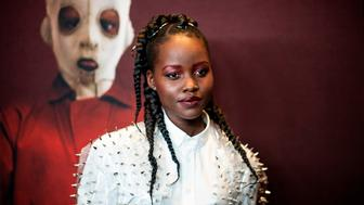 "Actress Lupita Nyong'o arrives for the New York premiere of ""US"" at the Museum of Modern Art on March 19, 2019 in New York City. (Photo by Johannes EISELE / AFP)        (Photo credit should read JOHANNES EISELE/AFP/Getty Images)"
