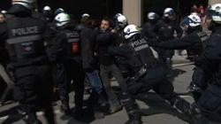 Manifestation étudiante: les policiers du SPVM