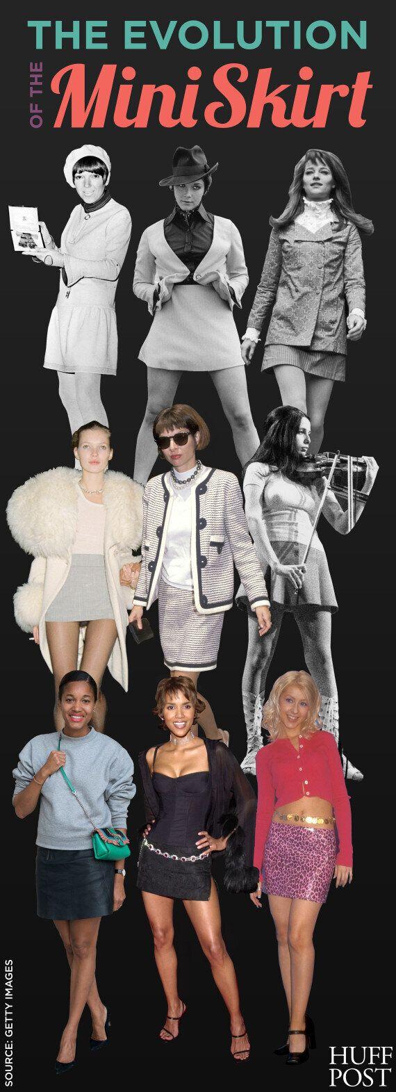 fad7b67ddb70dc L'évolution de la minijupe: un vêtement qui sème la controverse ...