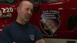 Le chef des pompiers de L'Isle-Verte