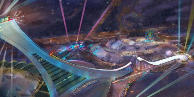 Coderre et Poëti annoncent un investissement de 250 000 $ dans le projet de Corporation Skying