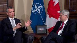 Stephen Harper rencontre le secrétaire général de l'OTAN à