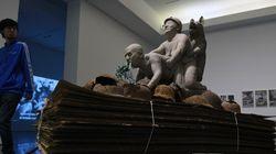 La sculpture de Juan Carlos qui bouleverse