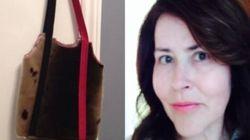 Une femme se fait saisir son sac à main en peau de phoque par les douaniers