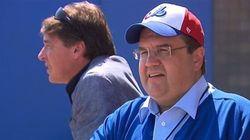 Denis Coderre en Floride: baseball, course automobile et