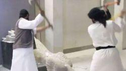 Des djihadistes détruisent des sculptures