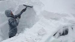 Blizzard dans les Maritimes: on s'approche d'un record
