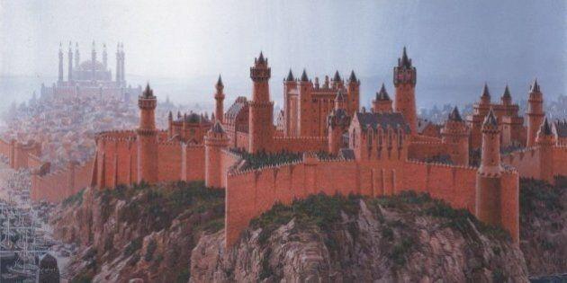 Game of Thrones: voici à quoi ressemble le monde de Westeros selon George R.R. Martin