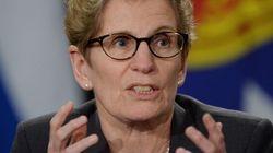 Kathleen Wynne perçoit un parfum d'homophobie dans le débat sur l'éducation