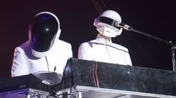 Daft Punk tombe le masque pour le plasticien Xavier
