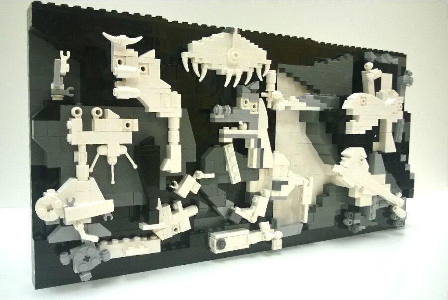 «Guernica» de Picasso entièrement recréé en