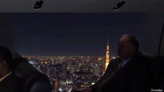 Avion sans fenêtre: un projet qui permettra aux passagers de profiter d'une vue panoramique
