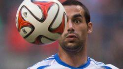 Andrés Romero nommé joueur de l'année chez