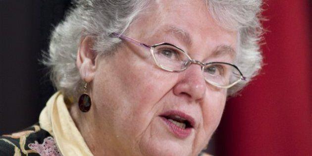 La sénatrice Nancy Ruth outrée d'avoir à justifier ses dépenses au vérificateur