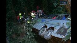 Accident d'autocar au Brésil: les autorités font état d'au moins 49