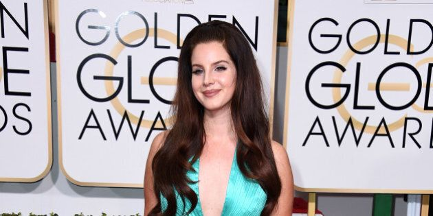 BEVERLY HILLS, CA - JANUARY 11:  Singer/songwriter Lana Del Rey attends the 72nd Annual Golden Globe Awards at The Beverly Hilton Hotel on January 11, 2015 in Beverly Hills, California.  (Photo by Steve Granitz/WireImage)