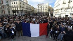 Les Français défilent à Paris
