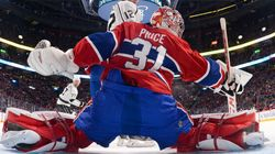 Carey Price au match des