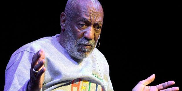 In this Nov. 21, 2014 photo, comedian Bill Cosby performs during a show at the Maxwell C. King Center for the Performing Arts in Melbourne, Fla. Tamara Green filed a defamation lawsuit against Cosby Wednesday, Dec. 10, 2014, in federal court in Springfield, Mass. In the lawsuit she claims Cosby drugged and raped her in the 1970's when she was an aspiring model. Green first spoke publicly about the alleged rape in 2005. Cosby, who has a home in Shelburne Falls in western Massachusetts, is the lawsuit's only defendant. (AP Photo/Phelan M. Ebenhack)