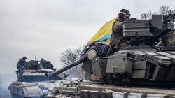 Ukraine: début du retrait des armes