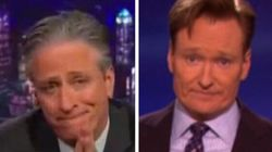 Charlie Hebdo: les hommages de Conan O'Brien et Jon Stewart