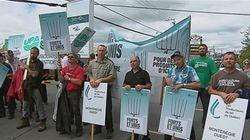 Gestion de l'offre : des agriculteurs manifestent en Beauce