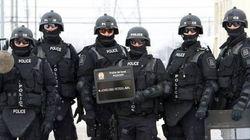 Une photo postée par la police de Laval enflamme les réseaux sociaux - L'Écho de