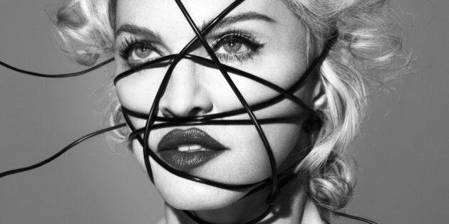 La nouvelle promo de Madonna pour son album «Rebel Heart» fait