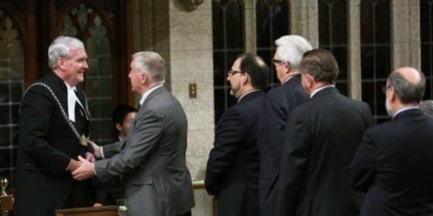 Attentat à Ottawa: Ce qui s'est passé à l'intérieur du parlement à